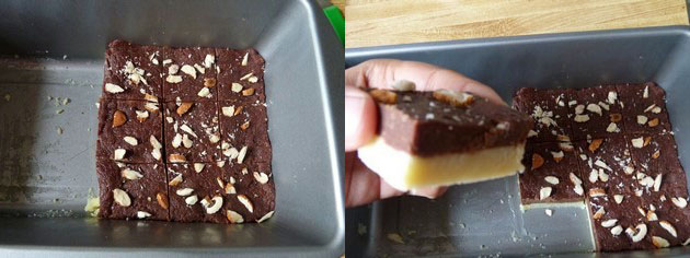 Chocolate burfi recipe | How to make chocolate burfi