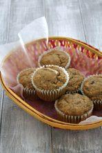 Eggless Banana Muffins Recipe | Vegan banana muffins