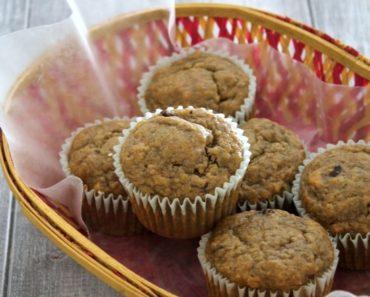 Eggless Banana Muffins Recipe   Vegan banana muffins