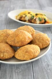 Khasta Kachori Recipe | Moong dal khasta kachori chaat recipe