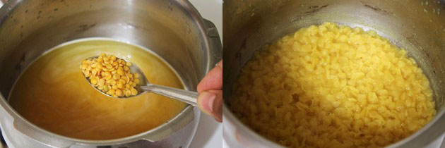 how to make toor dal