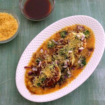Ragda pattice recipe | ragda patties | how to make ragda pattice