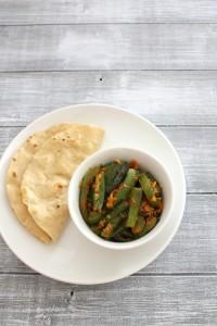 Bhindi Capsicum Sabji Recipe | Bhindi capsicum masala recipe