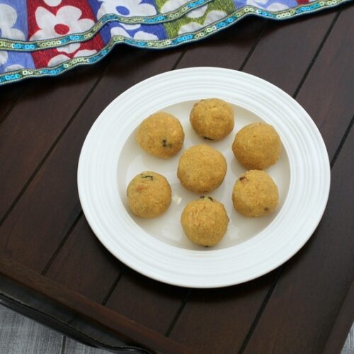 Rava Besan Ladoo Recipe | How to make rava besan laddu