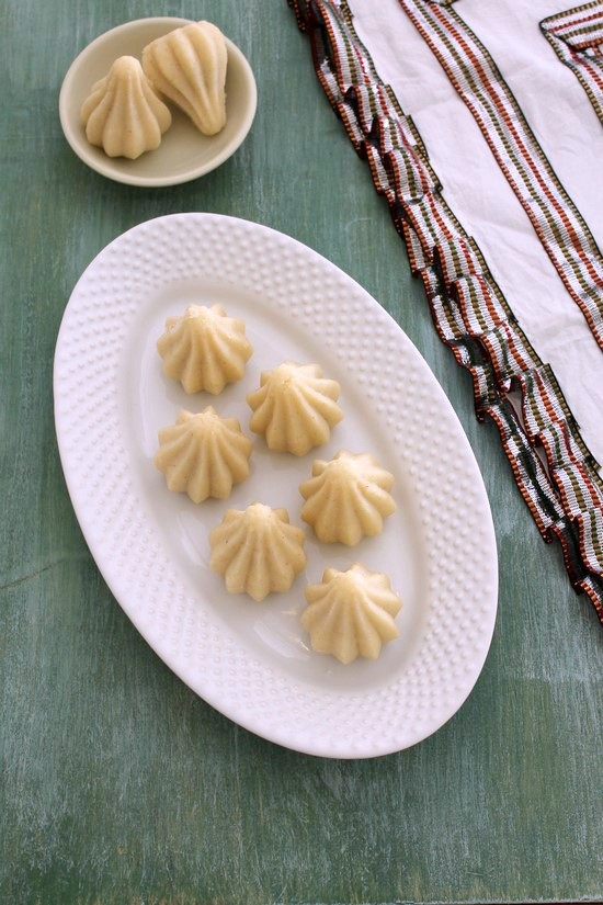 rava modak recipe