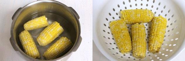 Sweet corn soup recipe | How to make easy sweet corn soup