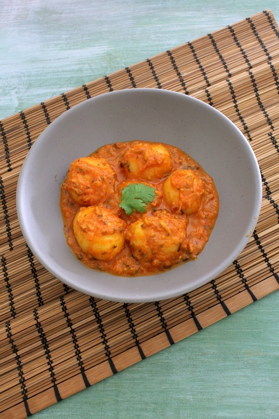 Baby potato curry recipe | Aloo curry recipe | Potato curry