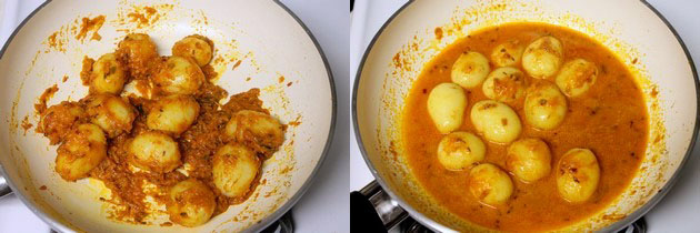 Baby potato curry recipe | Aloo curry recipe | Potato curry
