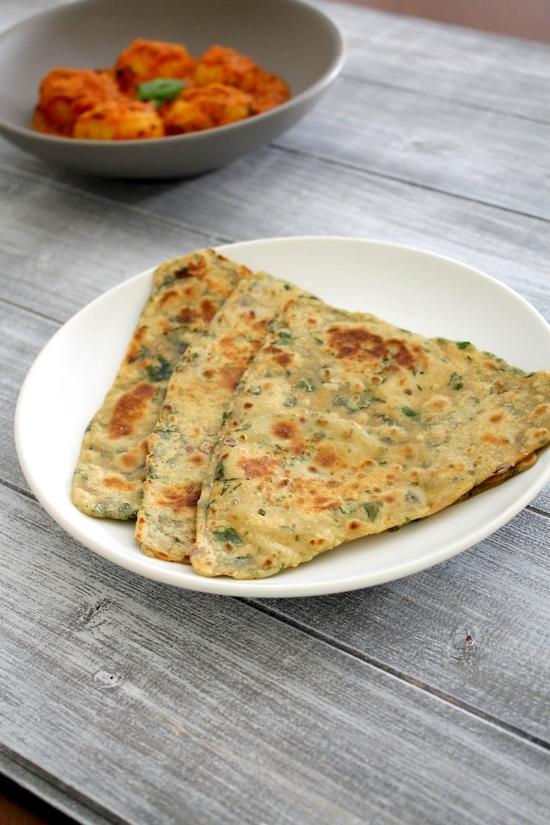 Palak paratha recipe | Spinach paratha | How to make palak paratha