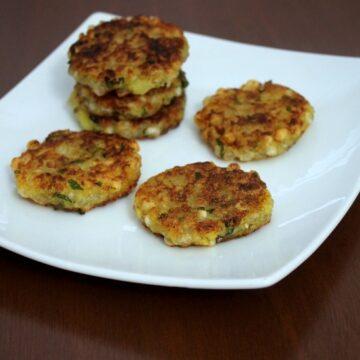 Sabudana tikki recipe | How to make sabudana tikki or cutlet