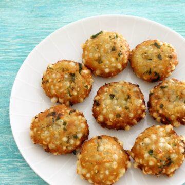 Sweet potato sabudana vada recipe | Sabudana recipe for vrat