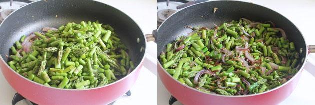 Asparagus Subzi Recipe | Indian style asparagus curry recipe