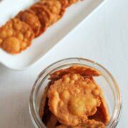 Crispy masala puri recipe   Masala poori for snack   Tea-time snacks