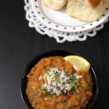 Paneer pav bhaji recipe | How to make paneer pav bhaji