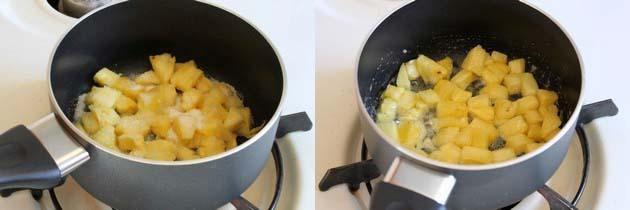 Pineapple Raita Recipe   How to make pineapple raita