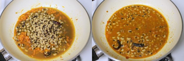 Lobia recipe   Lobia masala recipe   Punjabi lobia curry recipe