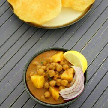 Aloo chana recipe   Aloo chole   Punjabi aloo chana masala