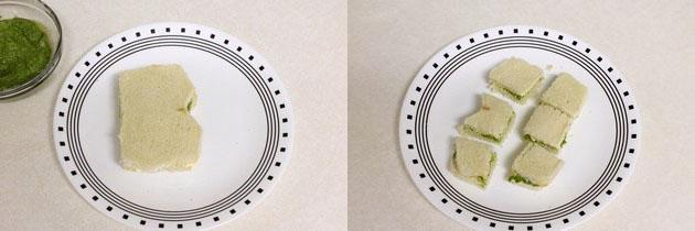 Chutney Sandwich recipe   How to make chutney sandwich recipe