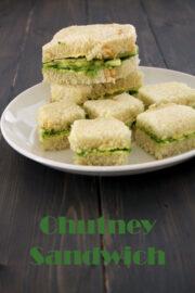 Chutney Sandwich recipe | How to make chutney sandwich recipe