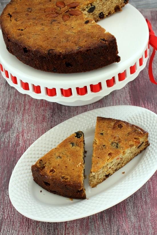 Mini Fruit Cakes moreover Fruit Cake Recipe moreover Boiled Fruit Cake ...