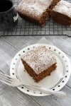 Eggless gingerbread cake recipe | How to make gingerbread cake recipe