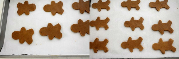 Eggless gingerbread men cookies recipe | Christmas cookies