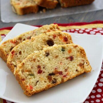 Eggless Tutti Frutti Cake Recipe | How to make tutti frutti cake