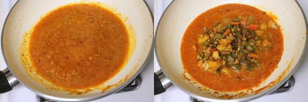 Kadai vegetable recipe | Veg kadai recipe, restaurant style gravy recipe