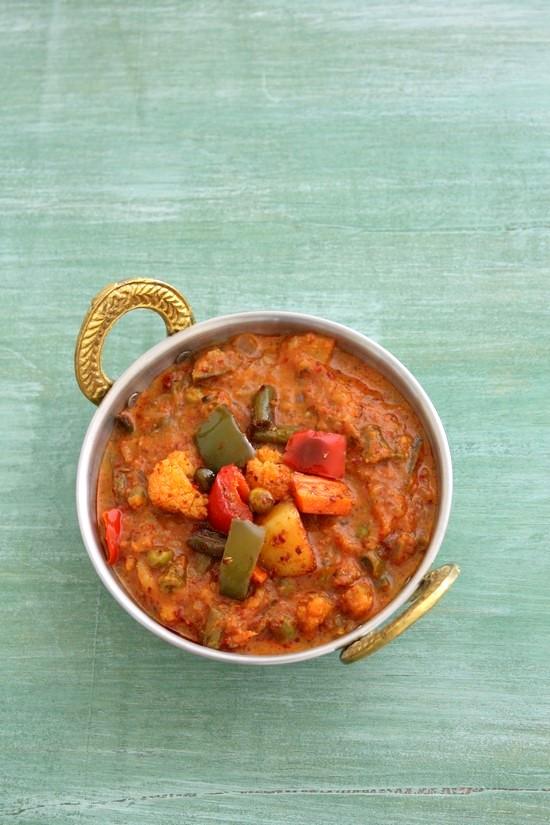 Kadai vegetable recipe how to make veg kadai recipe restaurant style kadai vegetable recipe veg kadai recipe restaurant style gravy recipe forumfinder Images
