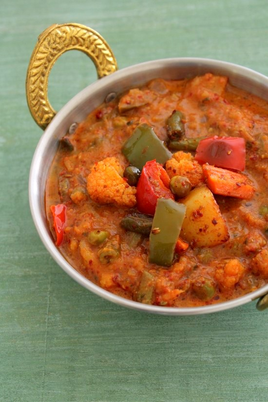 Kadai vegetable recipe | Veg kadai recipe, restaurant style gravy recipe