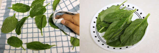 Palak pakoda recipe   Crispy Palak leaves pakoda recipe