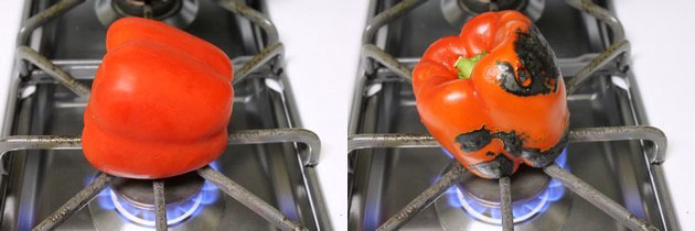 Roasted red pepper soup recipe   Healthy red pepper soup recipe