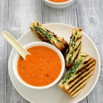 Roasted red pepper soup recipe | Healthy red pepper soup recipe