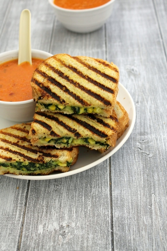 Spinach corn sandwich recipe | Grilled corn spinach sandwich