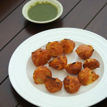 Tandoori Aloo Recipe | How to make tandoori aloo recipe