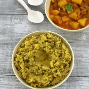 Gujarati khichdi recipe | How to make gujarati khichdi