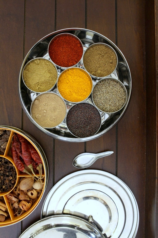 Indian spice box | Masala dabba | Spice to include in masala dabba