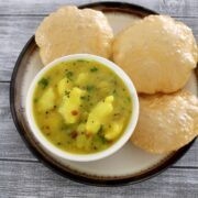 Poori masala recipe | How to make potato masala for pooris