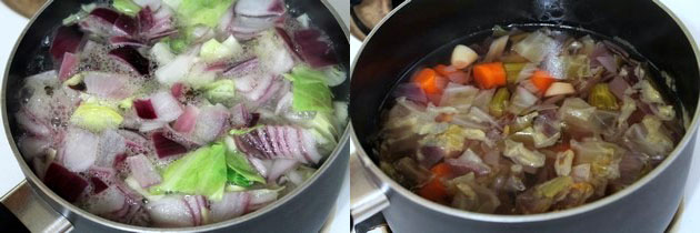 Vegetable broth recipe | How to make vegetable stock at home