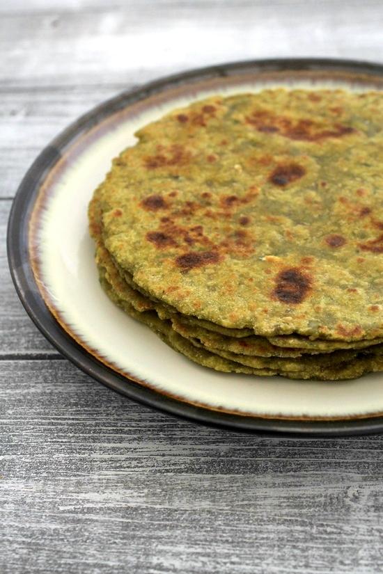 Aloo palak paratha recipe | How to make aloo palak paratha