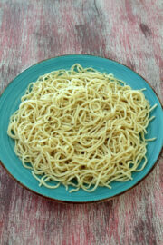 Boiled noodles for Indo-chinese recipes | Non-sticky boiled noodles