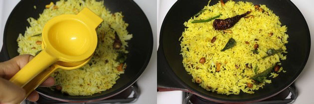 Lemon rice recipe | Chitrannam recipe | South Indian lemon rice