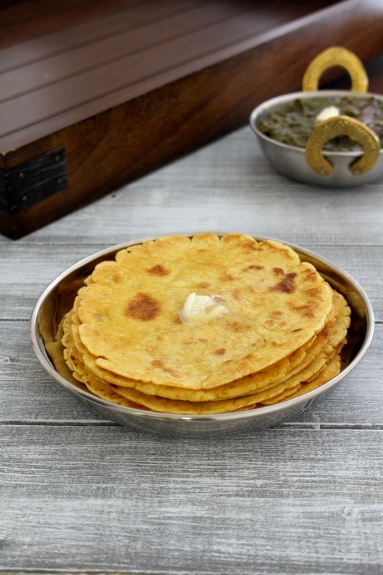 Makki ki roti recipe (Makki di roti) | How to make makki ki roti
