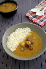 Onion sambar recipe | Vengaya sambar | Small onion sambar