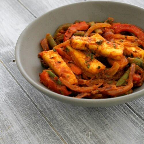 Paneer Jalfrezi recipe | How to make paneer jalfrezi