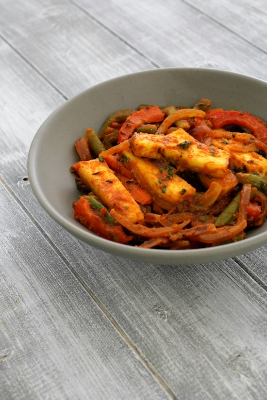 Paneer Jalfrezi recipe | How to make paneer jalfrezi