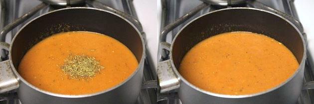Roasted tomato soup recipe   Simple, quick, easy tomato soup