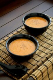 Roasted tomato soup recipe | Simple, quick, easy tomato soup