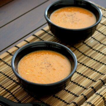 Roasted tomato soup recipe | Simple, quick, easy tomato soup