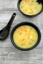 Sweet corn veg soup recipe | Indo Chinese sweet corn soup recipe